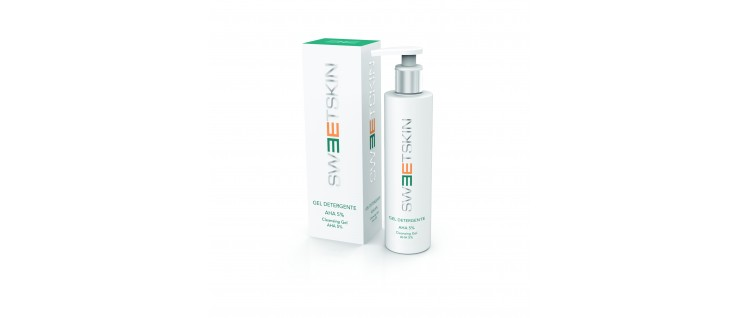 Sweet Skin system Очищающий гель АНА 5%